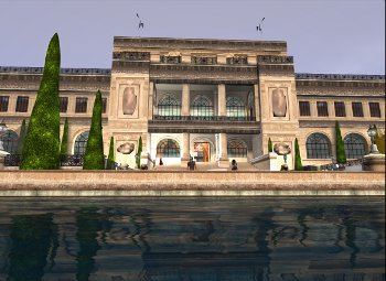 Big gallery in Second life